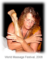 Lomilomi incorporates movement, breath and dance, and uses deep and gentle rhythmic strokes of the faciliator's forearms